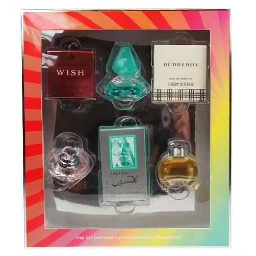 Gift set Ladies Fragrance Collection miniatures 7 Paveikslėlis 1 iš 1 2508200000009