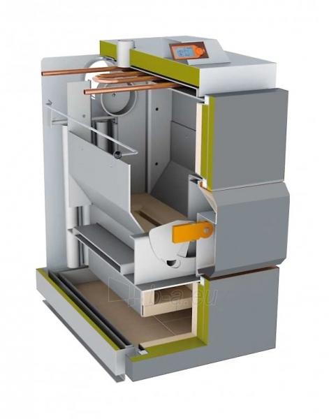 Dujų generacinis kieto kuro katilas VIGAS 25S (5-35 kW) D.P. AK4000 Paveikslėlis 2 iš 3 271322000216