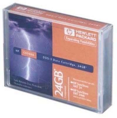 Duomenų laikmenos HP DDS-3, TAPE, 125M 12/24GB Paveikslėlis 1 iš 1 250256800003