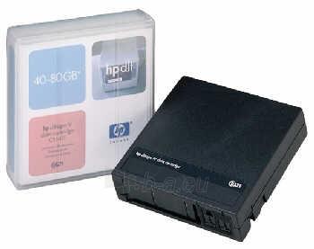 Duomenų laikmenos HP DLT 40-80GB DATA CARTRIDGE Paveikslėlis 1 iš 1 250256800005