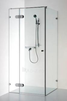 Dušo kabina NORA PLIUS 1000-1000 rudas stiklas Paveikslėlis 1 iš 1 270730000360