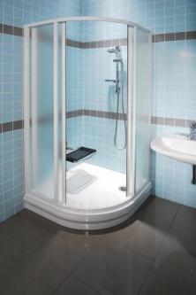 Shower enclosures Ravak SKCP4-90 | Clear glass Paveikslėlis 1 iš 3 270730000198