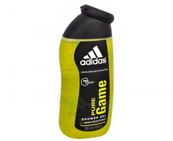 Dušo želė Adidas Pure Game Shower gel 250ml Paveikslėlis 1 iš 1 2508950000519