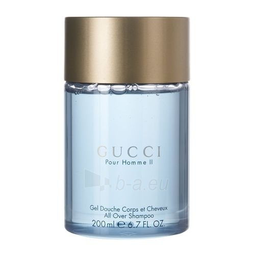 Shower gel Gucci Pour Homme II. Shower gel 200ml Paveikslėlis 1 iš 1 2508950000234