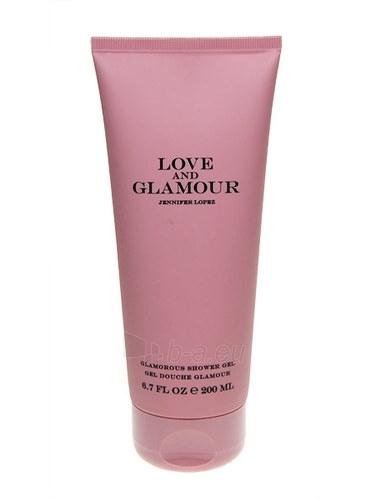 Dušo želė Jennifer Lopez Love & Glamour Shower gel 200ml Paveikslėlis 1 iš 1 2508950000512