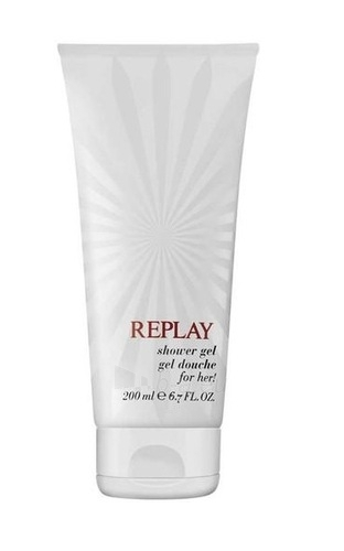 Shower gel Replay for Her Shower gel 200ml Paveikslėlis 1 iš 1 2508950000425