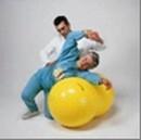 Dvigubas terapinis kamuolys mankštai 'Physio Roll' 115 cm. Paveikslėlis 1 iš 1 250620200004