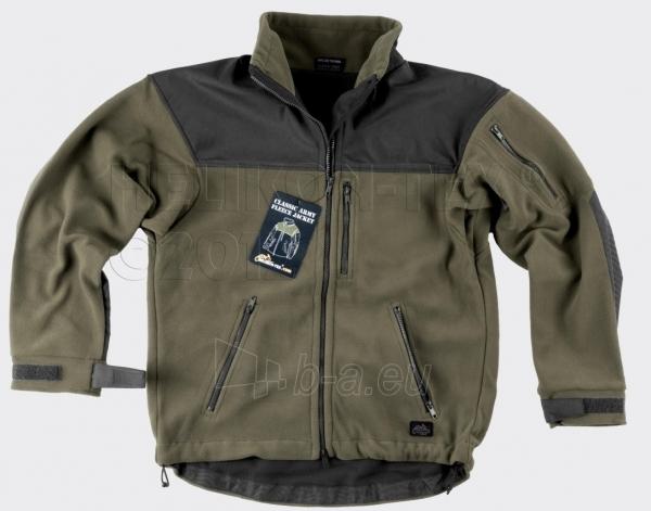 Džemperis vyriškas šiltas juodai-chaki spalvos Helikon Classic Army Paveikslėlis 1 iš 1 251510300014