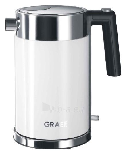 Electric kettle-termosas GRAEF WK61EU, white Paveikslėlis 1 iš 1 250123920103