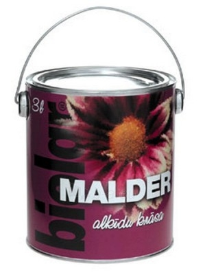 Emalis alkidinis Malder baltas 0,9 ltr. Paveikslėlis 1 iš 1 236520000139