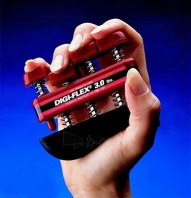Espanderinis pirštų treniruoklis 'Digi-Flex' (raudonas) Paveikslėlis 1 iš 1 250630500016