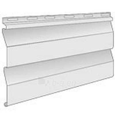 Fasado apkala, plast., balta, 250x3850 mm Paveikslėlis 2 iš 2 237714000131