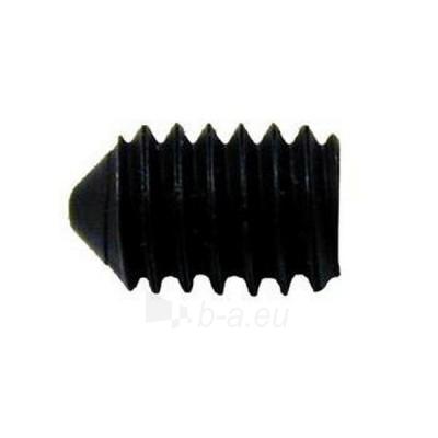 Hexagon socket set screw with cone point DIN 914 M 3 x 4 Zn Paveikslėlis 1 iš 1 236178000000