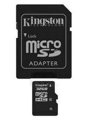 Flash 32GB MICROSDHC CLASS 4 FLASH CARD Paveikslėlis 1 iš 1 250255120105