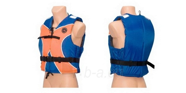 Gelbėjimosi liemenė universali 50N, XL dydis (oranžinė/mėlyna) Paveikslėlis 2 iš 2 250555400022