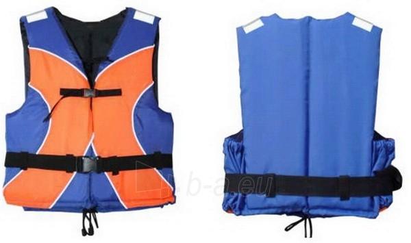 Gelbėjimosi liemenė universali 50N, XL dydis (oranžinė/mėlyna) Paveikslėlis 1 iš 2 250555400022