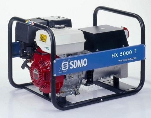 Generatorius SDMO HX 5000 T Paveikslėlis 1 iš 1 225282000074