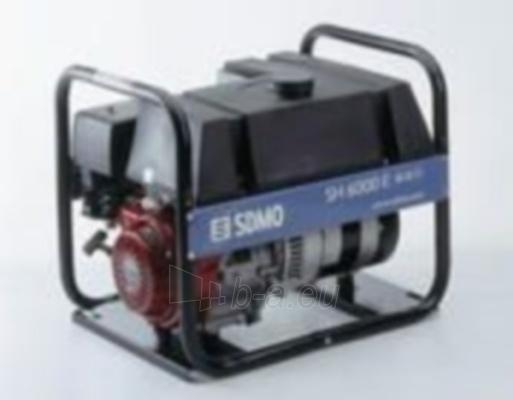 Generatorius SDMO SH 6000 E-2 Paveikslėlis 1 iš 1 225282000072