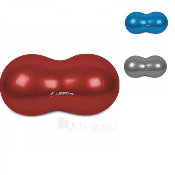 Gimnastikos kamuolys inSPORTlinel pupelė raudona raudonas Paveikslėlis 1 iš 4 250620200099