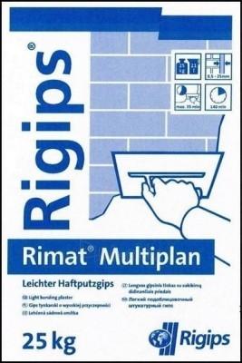 Gipsinis tinkas Rigips Multiplan 25kg Paveikslėlis 1 iš 1 236760200029