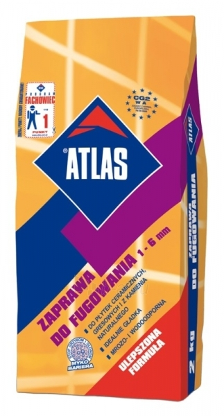 ATLAS Grout (2-6mm) blue gray 032 2kg Paveikslėlis 1 iš 1 236790000269