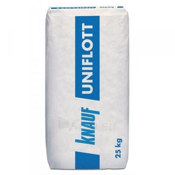 Gypsum plaster Knauf UNIFLOT 25kg Paveikslėlis 1 iš 1 236790000113