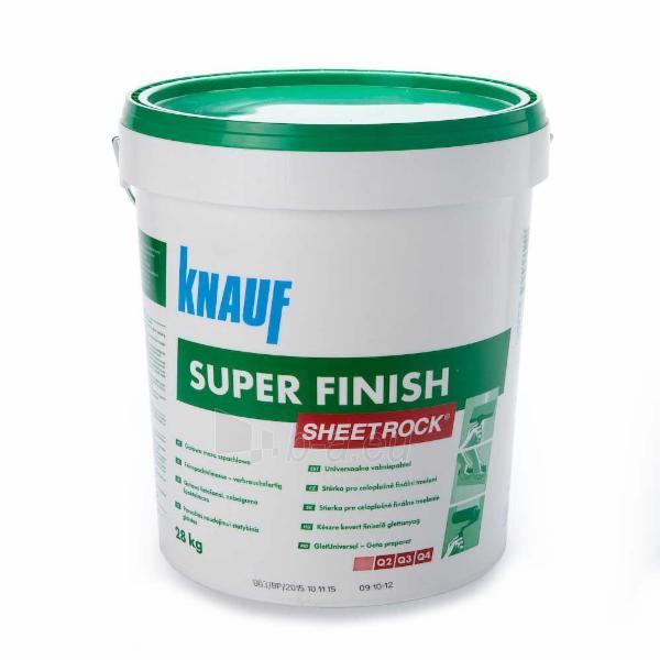 Glaistas universalus Super Finish, Knauf ,20 kg Paveikslėlis 2 iš 2 236506000032
