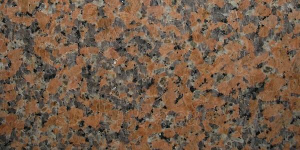 Granito plytelės Maple Red 600x300x17 mm šiurkščiu paviršiumi Paveikslėlis 1 iš 1 237756000036