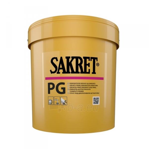 Primer prieš dekoratyvinį tinką PG 5 kg Paveikslėlis 1 iš 1 236580000037