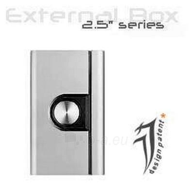 HDD dėžutė JJ EXT.HDD CASE,2.5'',SATA->USB2.0 Paveikslėlis 1 iš 1 250255600035