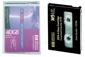 HP DDS-4 TAPE, 150M 20/40GB Paveikslėlis 1 iš 1 250256800036