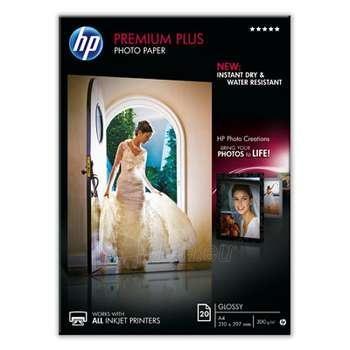 HP PHOTO GLOSSY A4, 20S, 300 G/M2 Paveikslėlis 1 iš 1 250256010251