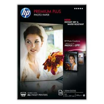 HP PHOTO SEMI-GLOSS A4, 20S, 300 G/M2 Paveikslėlis 1 iš 1 250256010253