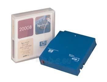 HP ULTRIUM DATA CARTRIDGE 200 GB Paveikslėlis 1 iš 1 250256800059