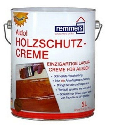 Impregnantas Aidol Holzschutz-Creme bespalvis 5 ltr. Paveikslėlis 1 iš 1 236860000368
