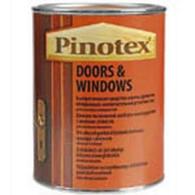 Impregnantas Doors Windows raudonmedis 10ltr. Paveikslėlis 1 iš 1 236860000315