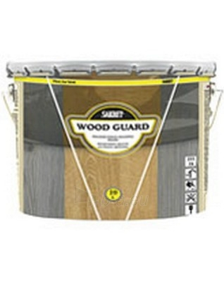 Impregnantas Wood Guard Blac Wood 1ltr. Paveikslėlis 1 iš 2 236860000271