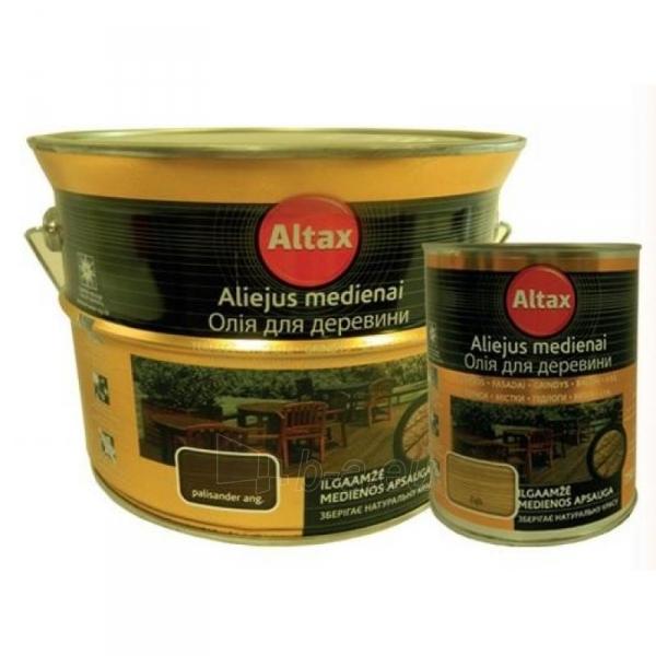 Impregnantas aliejus ALTAXIN kaštonas 0,75 ltr. Paveikslėlis 1 iš 1 236860000122