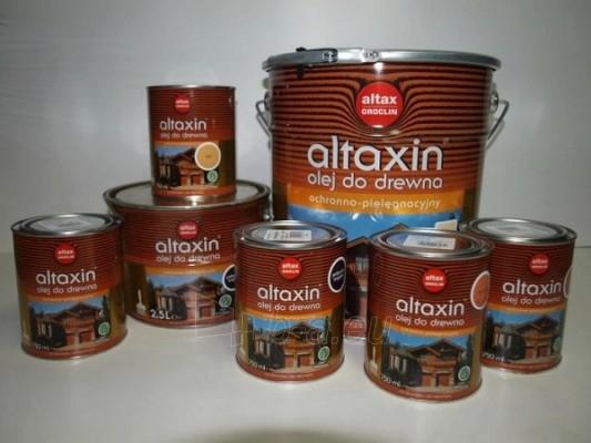 Impregnant aliejus ALTAXIN tikas 2,5 ltr. Paveikslėlis 1 iš 1 236860000171