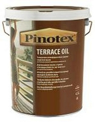 Impregnantas alyva terasoms Pinotex Terrace Oil 4,5ltr. Paveikslėlis 1 iš 1 236860000342