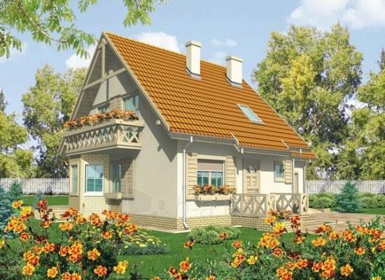 Individualas namo projektas 'Sigutė II' Paveikslėlis 1 iš 1 238510000098