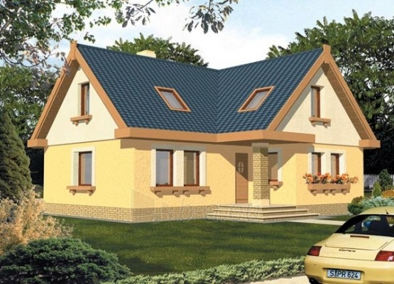 Individual house project 'Agata (be garažo)' Paveikslėlis 1 iš 1 238520000059