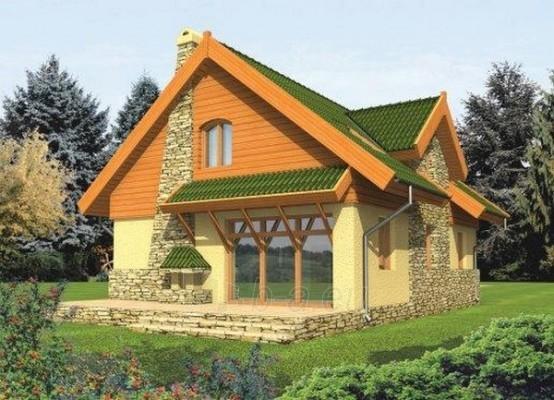 Individual house project 'Aldona' Paveikslėlis 1 iš 1 238520000219
