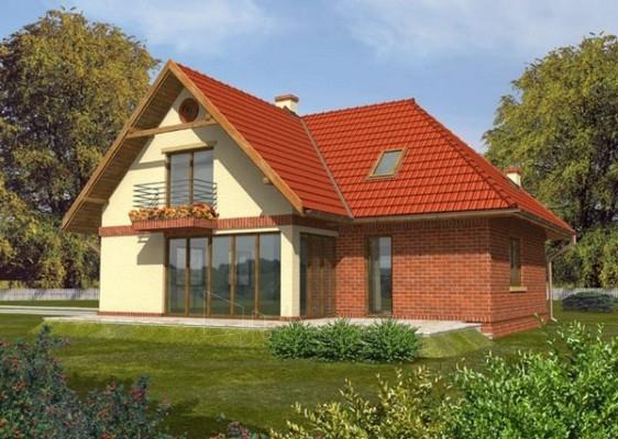 Individual house project 'Andromeda' Paveikslėlis 1 iš 1 238520000069