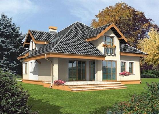 Individualaus namo projektas 'Antonela' Paveikslėlis 1 iš 1 238520000087