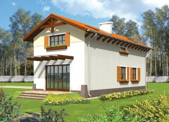 Individualaus namo projektas 'Anzelma' Paveikslėlis 1 iš 1 238510000086