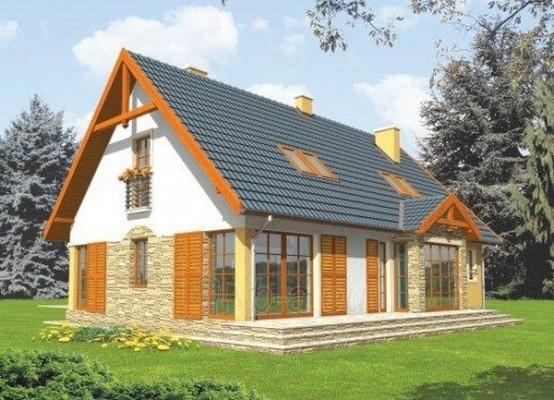 Individualaus namo projektas 'Dafnė' Paveikslėlis 1 iš 1 238520000239