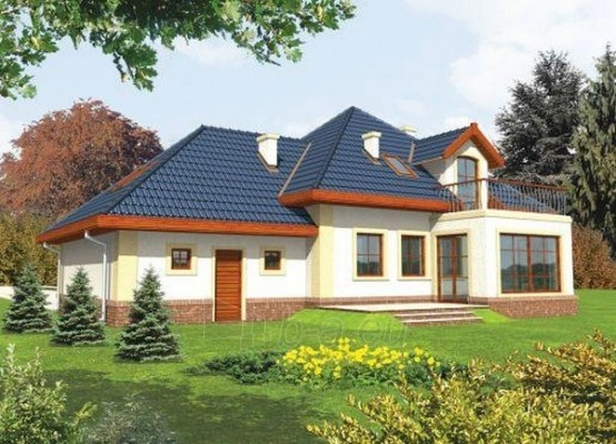 Individual house project 'Dangė' Paveikslėlis 1 iš 1 238520000185