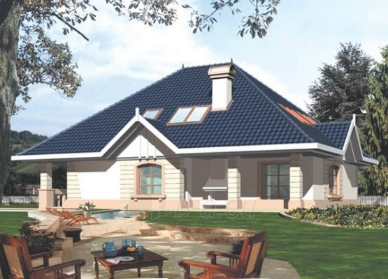 Individual house project 'Danielė' Paveikslėlis 1 iš 1 238520000145