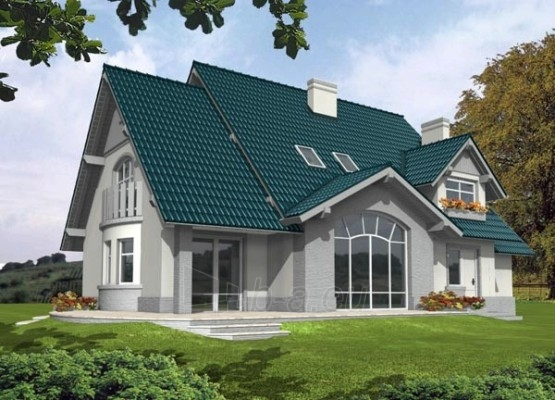 Individualaus namo projektas 'Elvira' Paveikslėlis 1 iš 1 238520000003